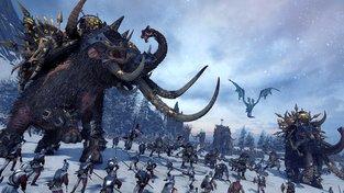 Bitevní mamuti drtí v novém videu k Total War: Warhammer lidské armády