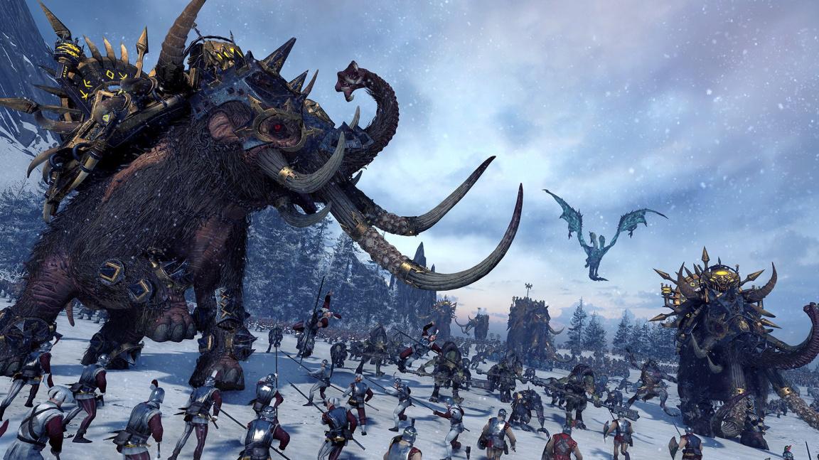 K čemu je příčetnost, když máte mamuty? Total War: Warhammer rozšíří hratelná Norsca
