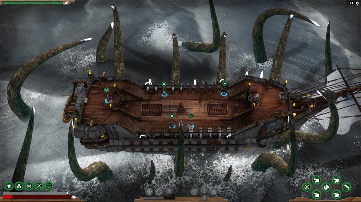 """""""Vypusťte krakena!"""" je přesný opak toho, co byste při hraní Abandon Ship chtěli slyšet"""