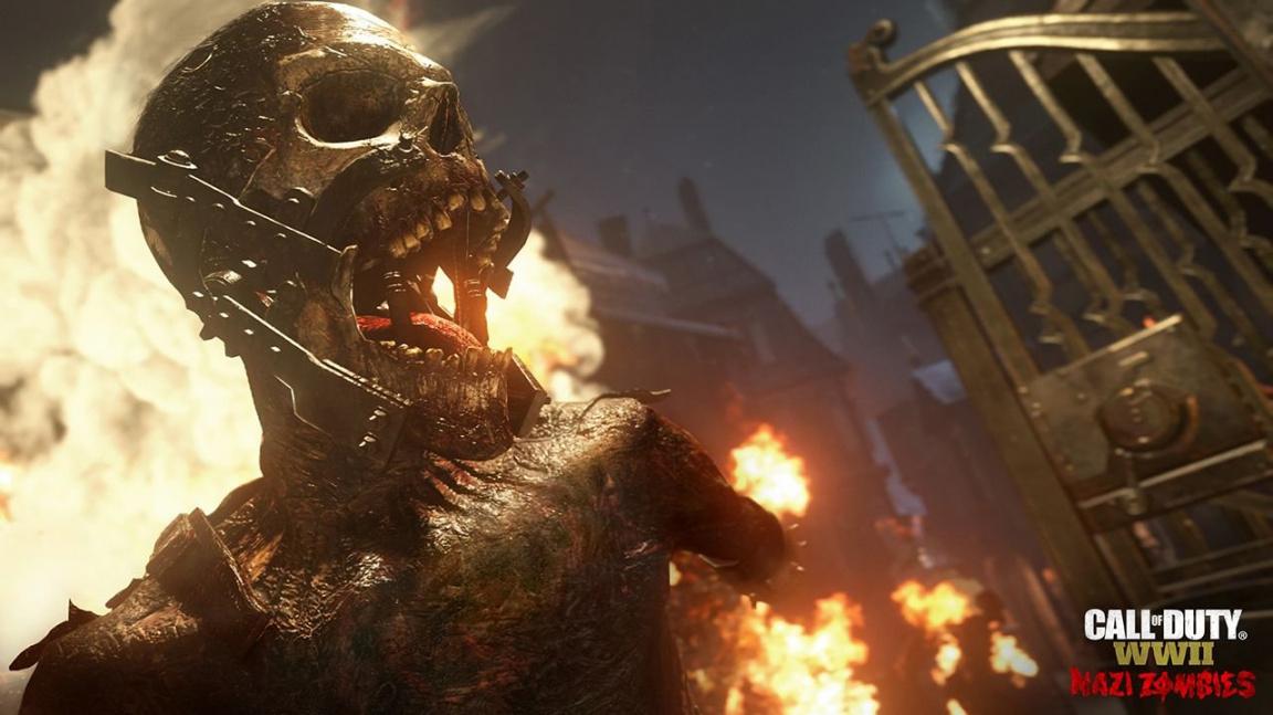 Video ze Zombie módu v Call of Duty: WWII: humor je pryč, vrací se děsivý horor