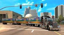 American Truck Simulator konečně umožňuje jezdit s vícero návěsy a přichází s výraznou objížďkou