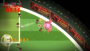 Behold the Kickmen je fotbalová hra od člověka, který fotbalu vůbec nerozumí