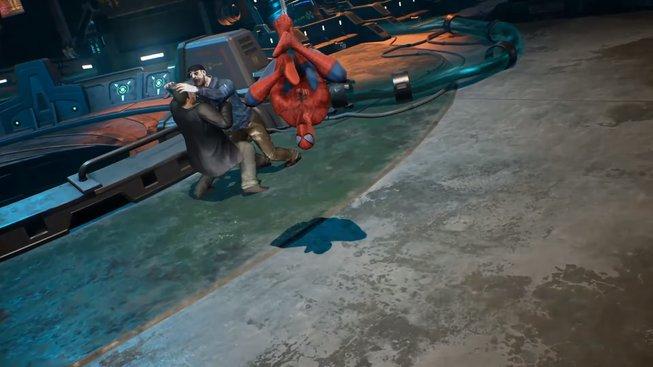 Spiderman Marvel vs Capcom