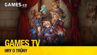 Nový díl pořadu Games TV představuje tři královské hry