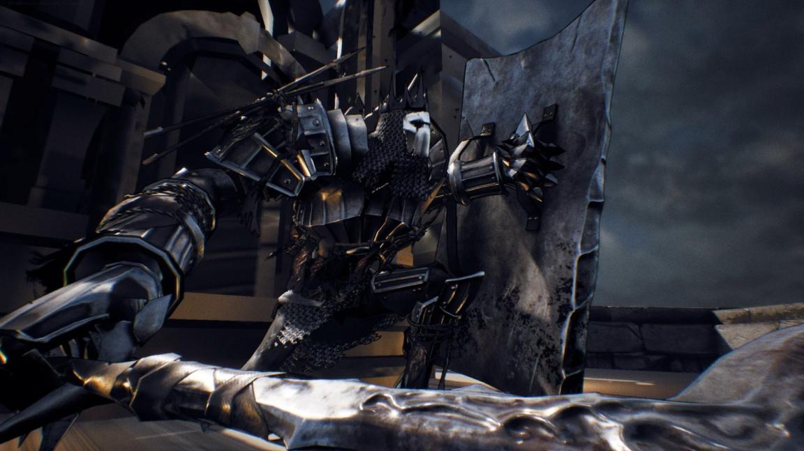 V temném RPG Sinner čelíte vlastním hříchům a postupem hrou slábnete