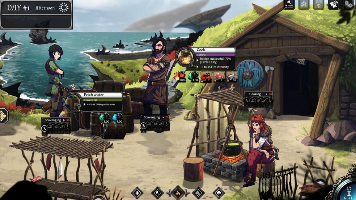 Co dělat, když Viking ztroskotá? O tom vás poučí nové video ze survivalu Dead in Vinland