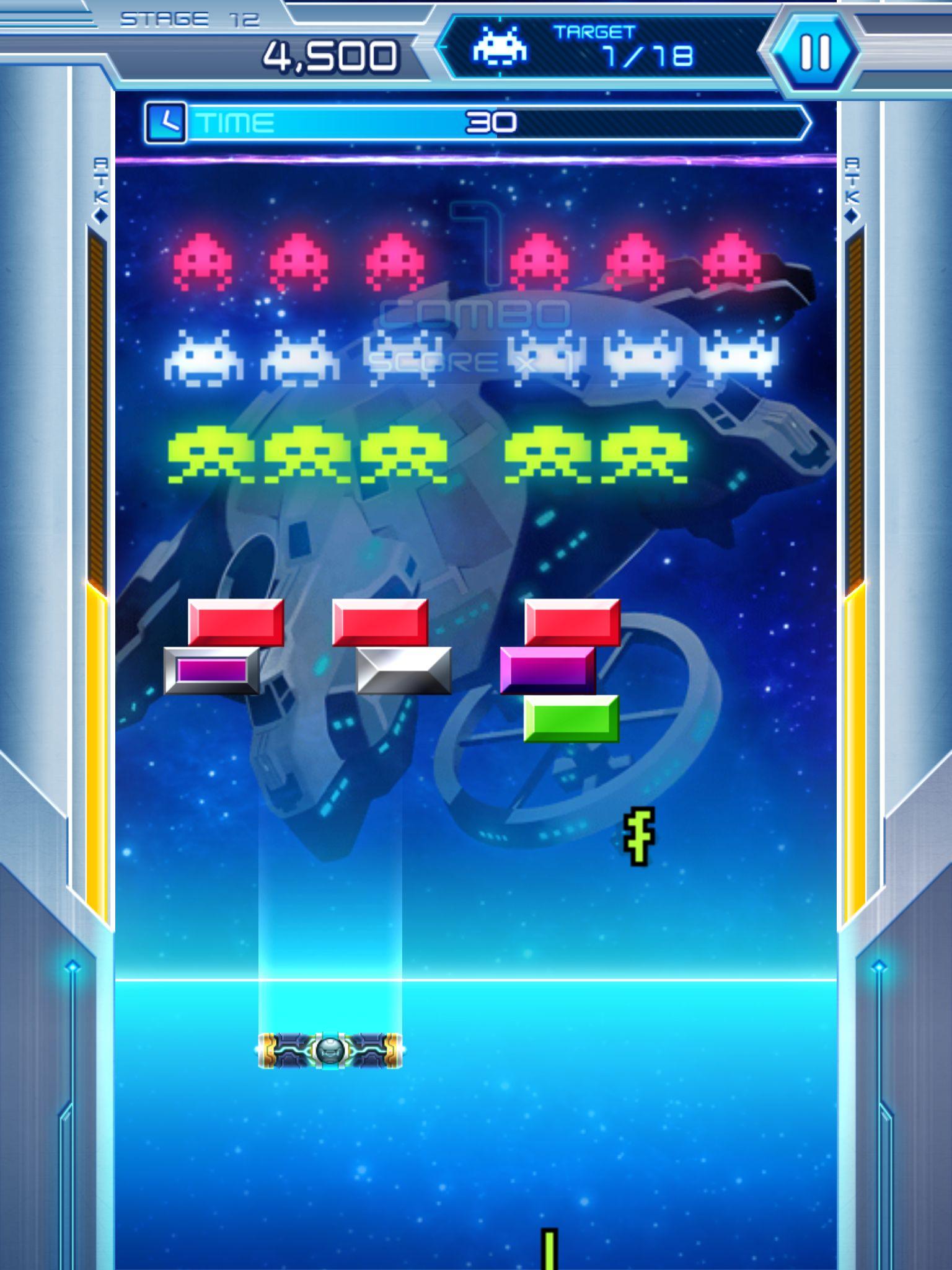 Arkanoid vs Space Invaders