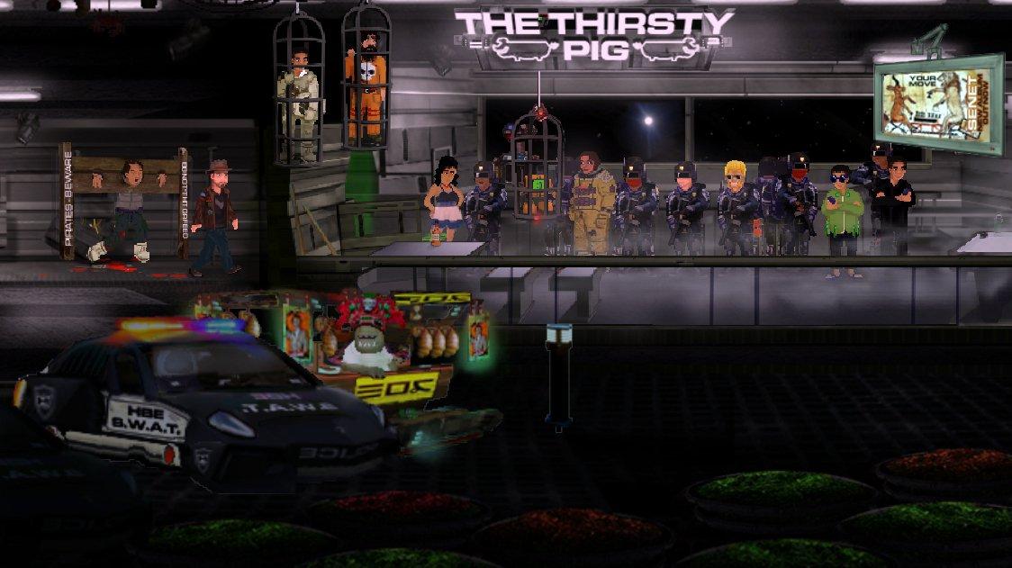3030 Deathwar Redux připomíná odlehčenou 2D verzi Elite a vychází už příští měsíc