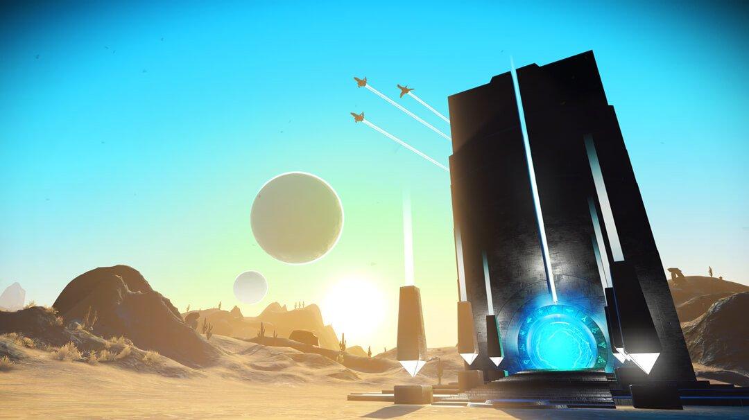 Update Atlas Rises přinesl do No Man's Sky příběhovou kampaň, portály a náznak kooperace