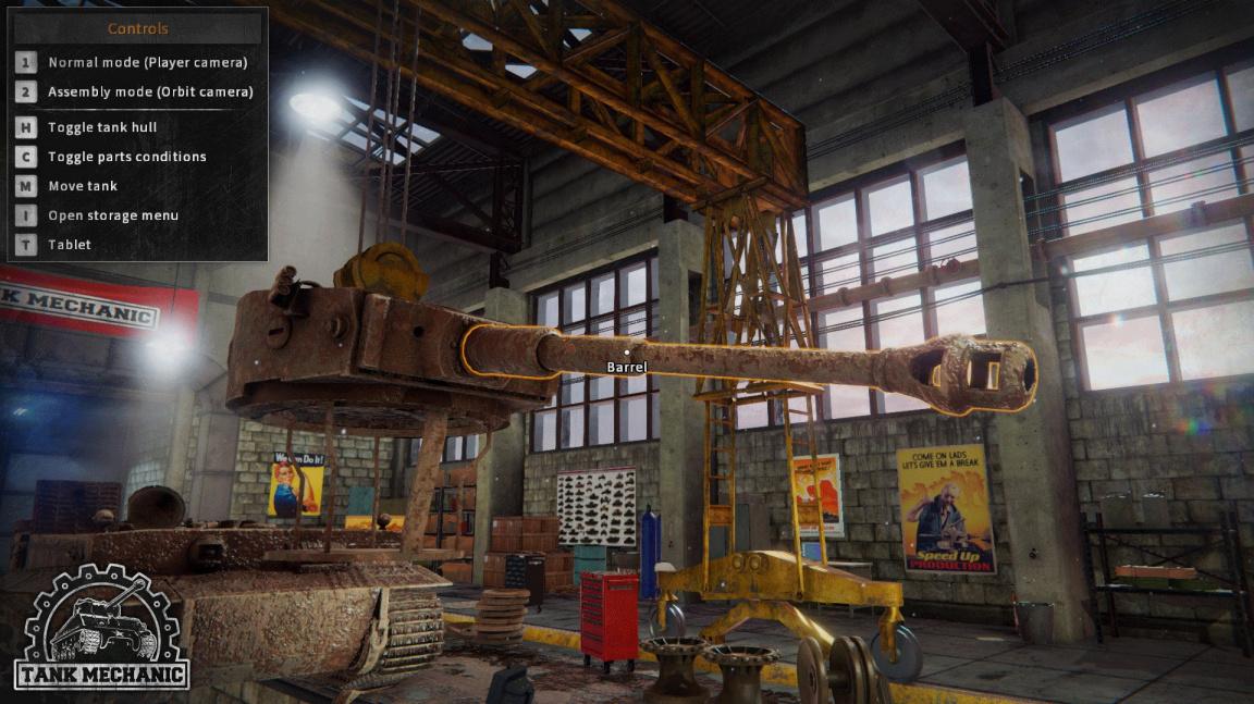 Objevte historii tanků z druhé světové tím, že je rozeberete v Tank Mechanic
