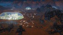 Přistání raketoplánu na rudé planetě v Surviving Mars je naplánováno na půlku března