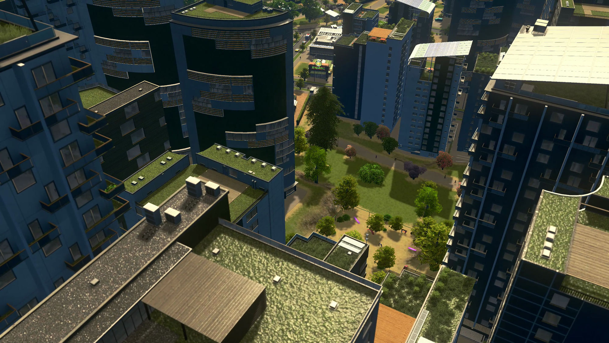 Cities: Skylines - Green Cities