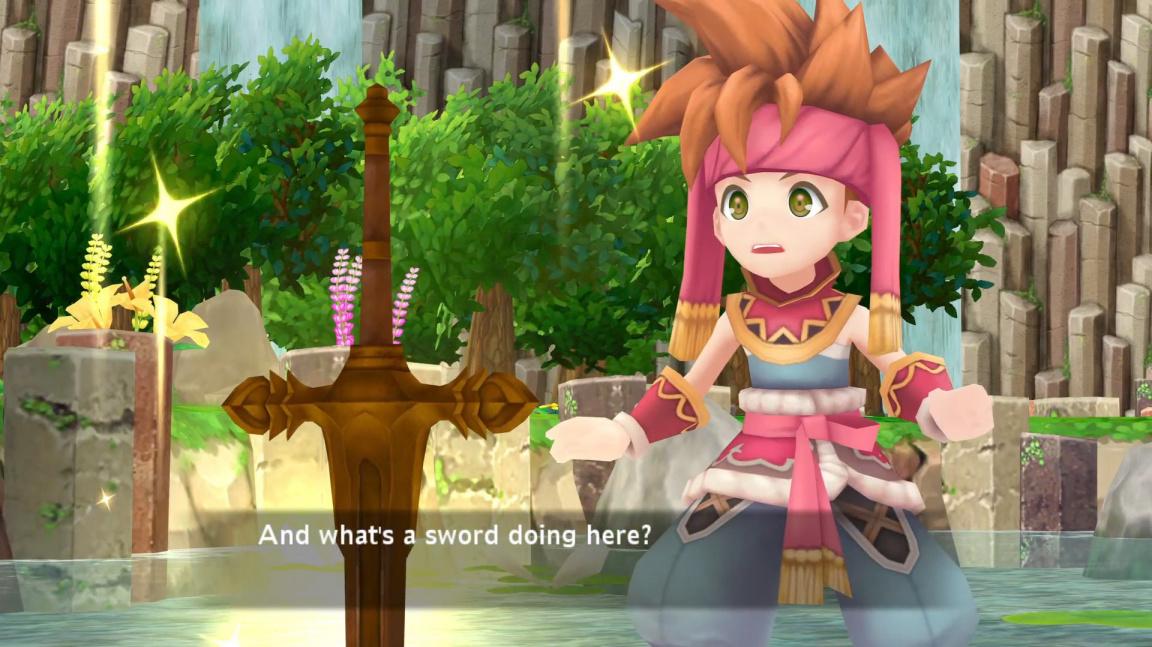 3D remake legendárního JRPG Secret of Mana vyjde na PC a PS4 už v únoru