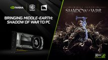 NVIDIA vylepší PC verze Destiny 2, Shadow of War a PlayerUnknown's Battlegrounds