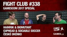 Fight Club #338: GamesCom 2017 speciál