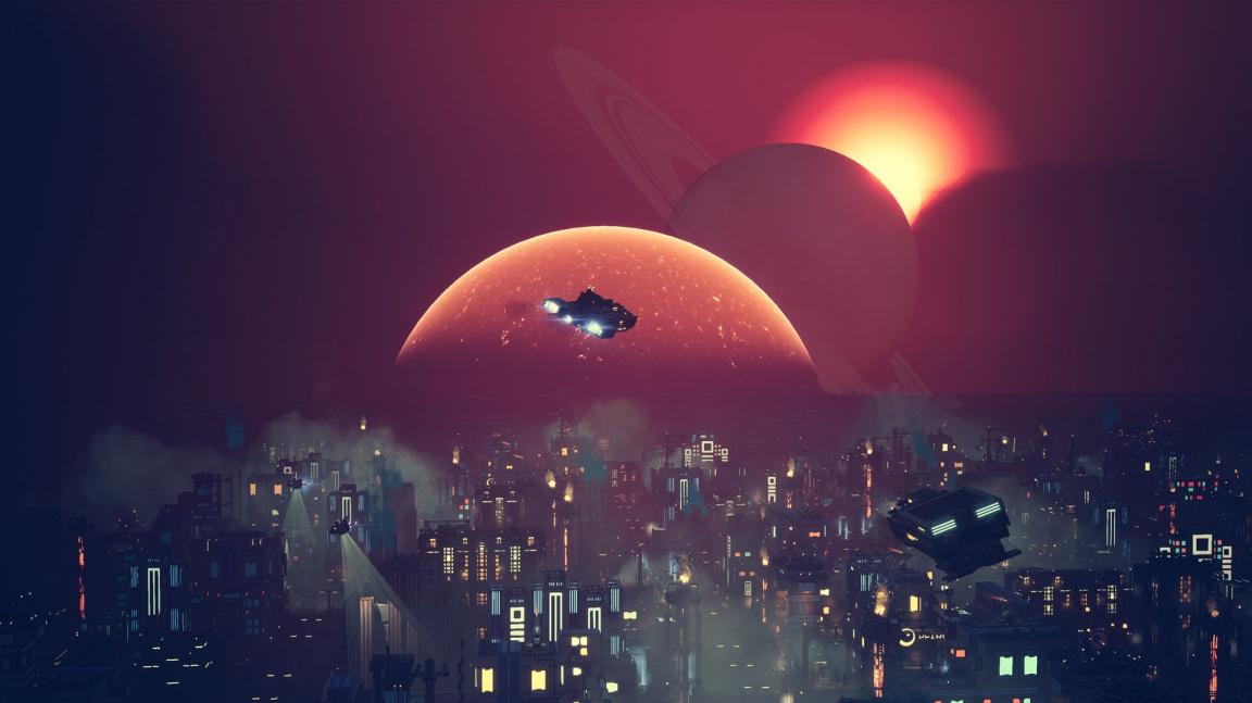Chcete akčnější Cities: Skylines ve vesmíru? Vyšla budovatelská strategie Industries of Titan