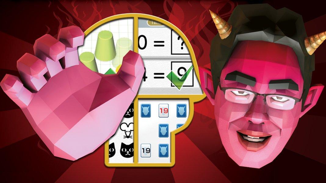 Dr Kawashima's Devilish Brain Training: Can You Stay Focused? - recenze