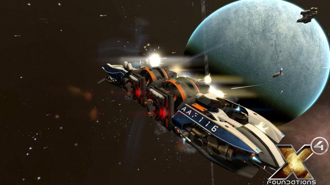 Sci-fi série X po nepovedené Rebirth pokračuje sedmým dílem X4: Foundations