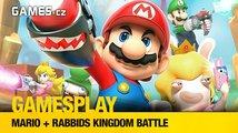 GamesPlay: Mario + Rabbids Kingdom Battle