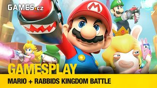 GamesPlay: Mario + Rabbids Kingdom Battle