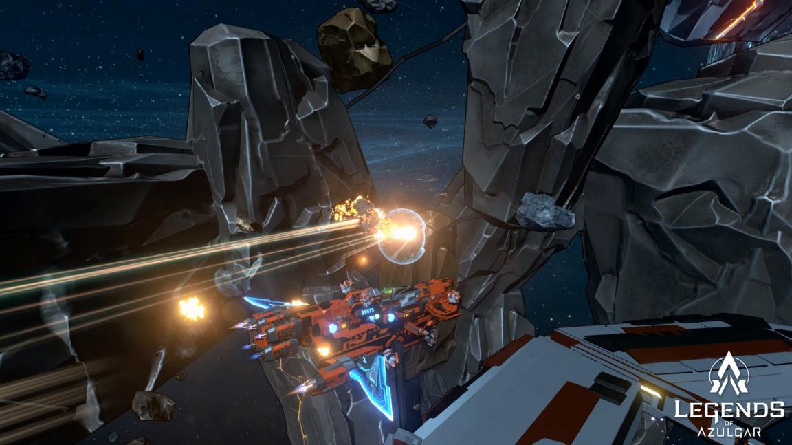 S Čechy do vesmíru! Sci-fi akce Legends of Azulgar vyšla v early accessu
