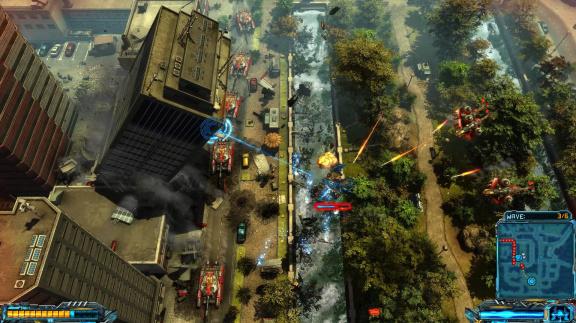 Akční střílečka X-Morph: Defense předčí intenzitou explozí i Michaela Baye