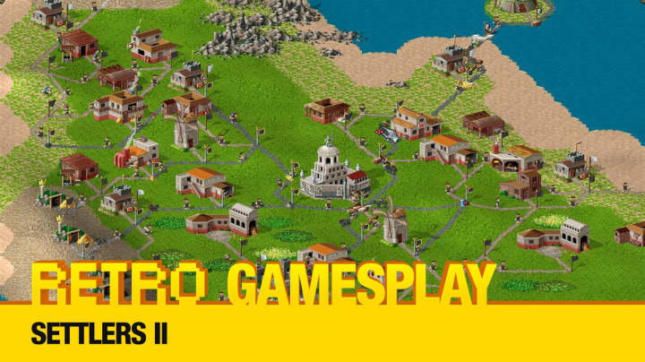 Retro GamesPlay - Settlers 2