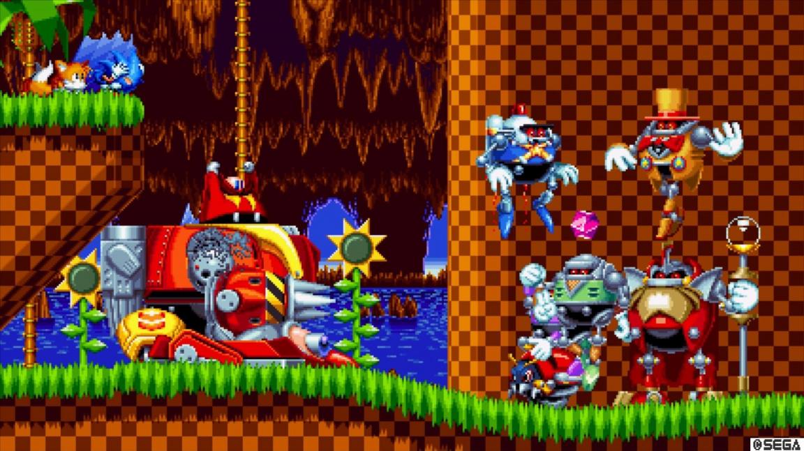 Stáhněte si Sonic Manii zdarma na Epic Game Store