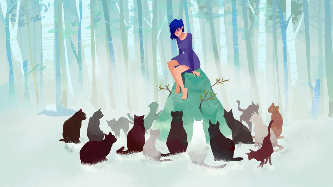 Nádherná adventura Lona: Realm of Colors se odvolává na Mijazakiho