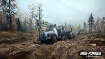 Spintires: MudRunner proti vašemu náklaďáku postaví divokou přírodu