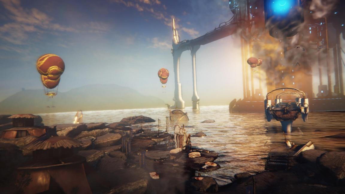 Warframe čeká přelomové rozšíření Plains of Eidolon, jež nabídne otevřený svět a crafting zbraní
