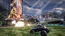 Zběsilé zápasy ozbrojených vozidel v MOBA aréně, akční Switchblade kombinuje nekolik žánrů