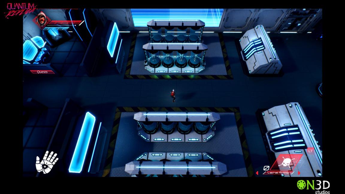 Kyberpunková stealth akce Quantum Replica se po vzoru svého hlavního hrdiny přesunula v čase