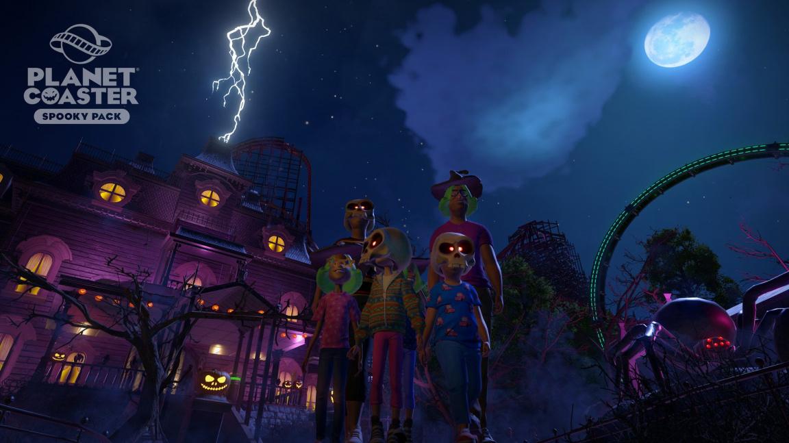 Blížící se Halloween přináší do Planet Coaster strašidelné atrakce