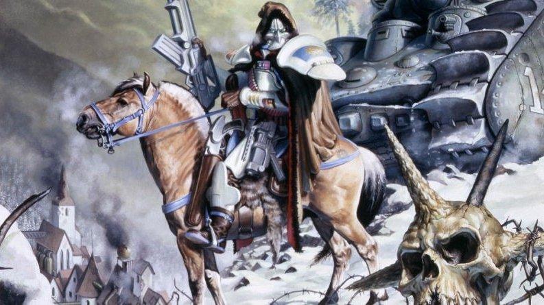 Mortifikátoři, Černá legie a další se vrací – na Kickstarteru je karetní hra Doomtrooper