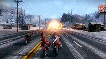 Plná verze Road Redemption nabízí brutální závody motorek ve stylu Road Rash