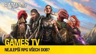 Nejlepší RPG všech dob? (Games TV #26)