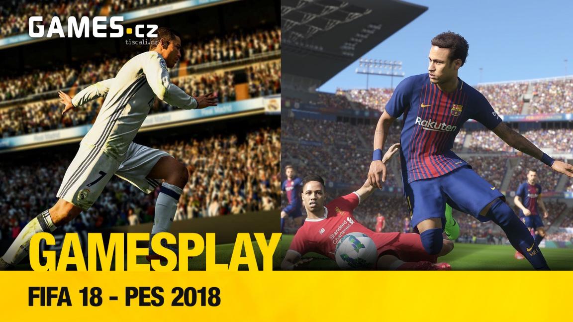 GamesPlay – FIFA 18 a PES 2018
