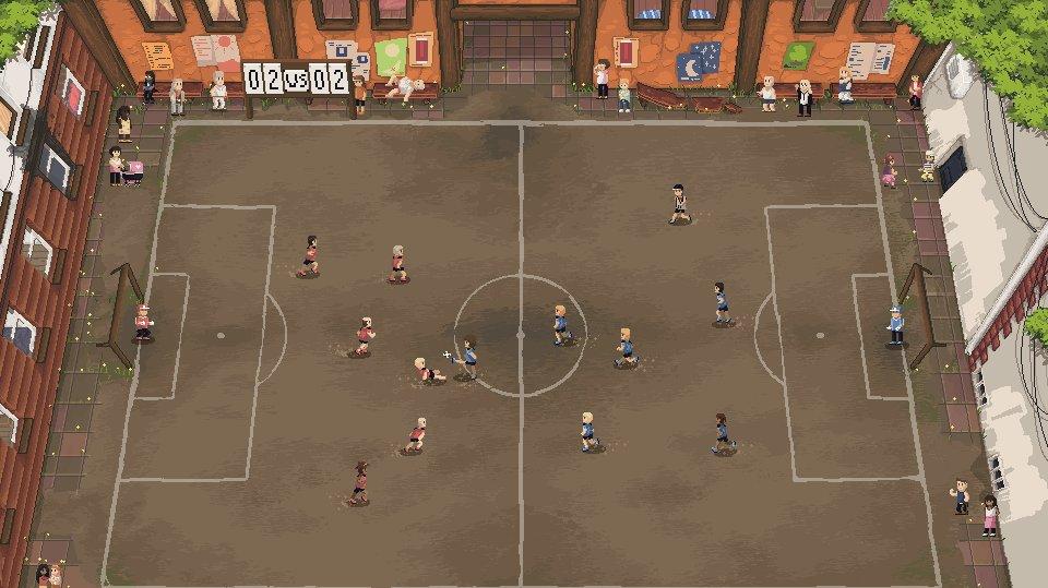 Prožijte život fotbalisty v multiplayerovém sportovním RPG Football Story