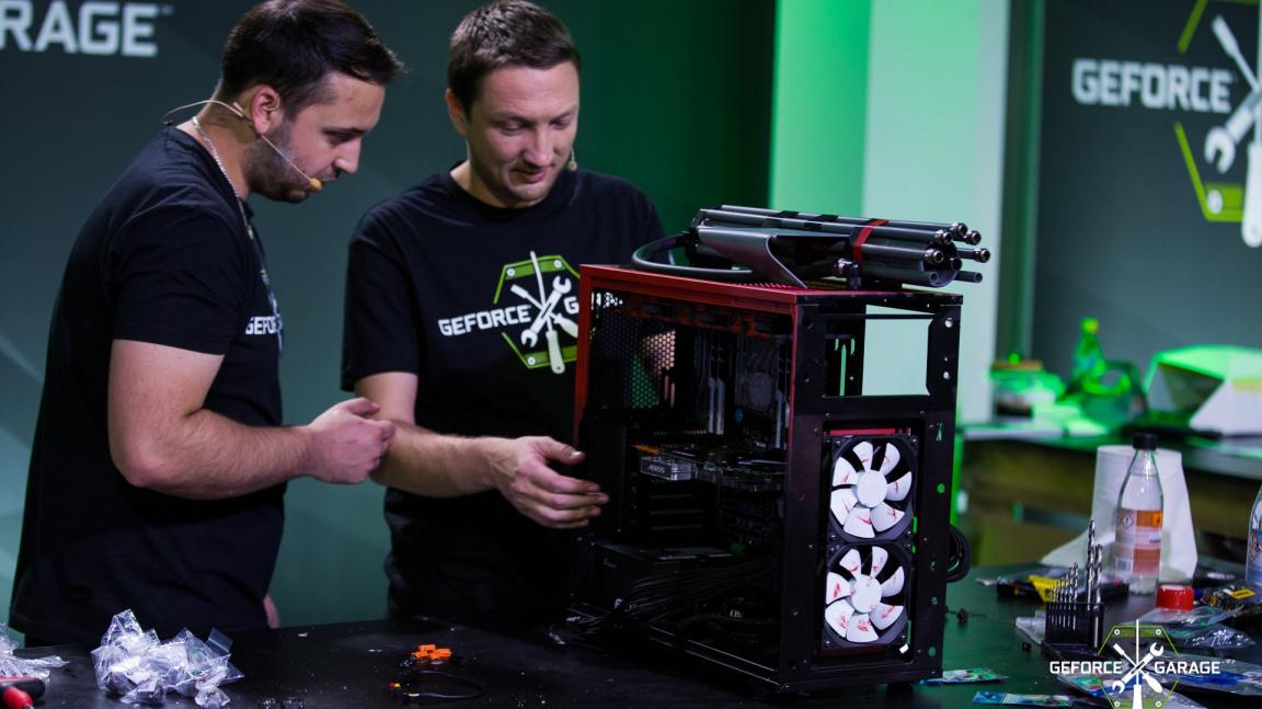 Český tým předvedl v největší evropské casemodingové show GeForce Garage: Destiny of Titans vynikající výkon