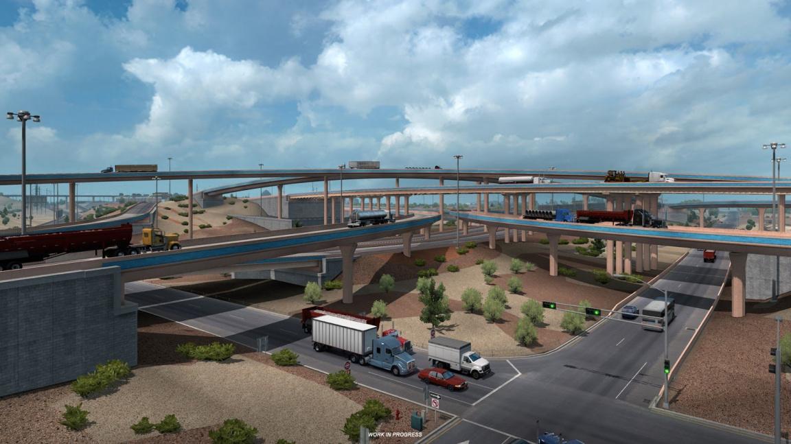Blíží se mapa Nového Mexika pro American Truck Simulator