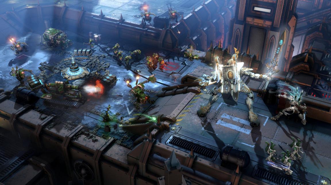 Pod ledem je láva! Nové mapy k Warhammer 40K: Dawn of War III jsou plné kontrastů