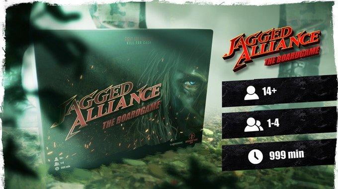 Legendární Jagged Alliance se vrací v podobě stolní hry na Kickstarteru