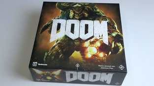 DOOM - recenze deskové hry