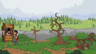 Cestování časem v adventuře Guard Duty připomíná klasiky od LucasArts či Sierry