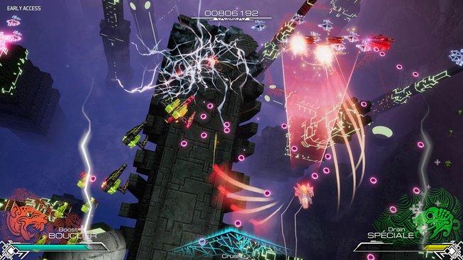 Aztékové přežili a vyrobili kamennou vesmírnou loď s lasery. Aspoň tedy podle střílečky Pawarumi