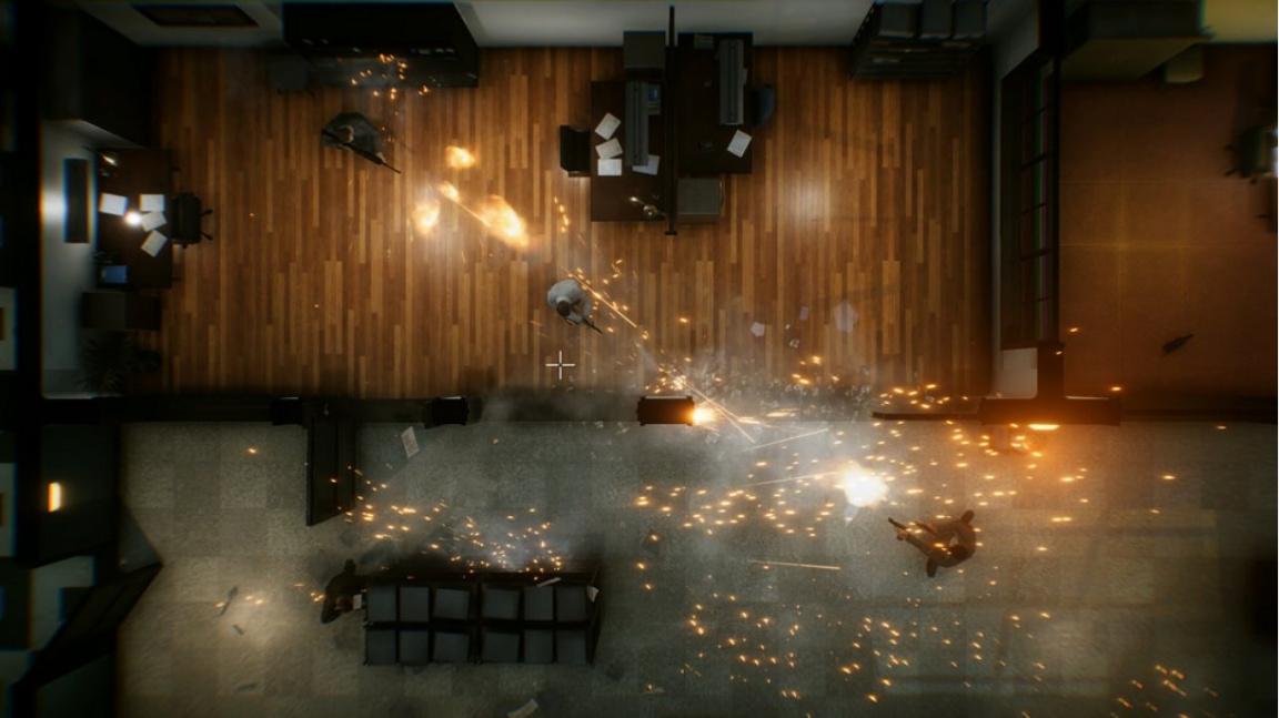 Top-down střílečka The Hong Kong Massacre je Hotline Miami říznutá Johnem Woo