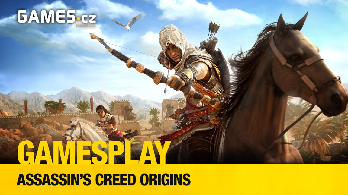 GamesPlay – hrajeme Assassin's Creed Origins
