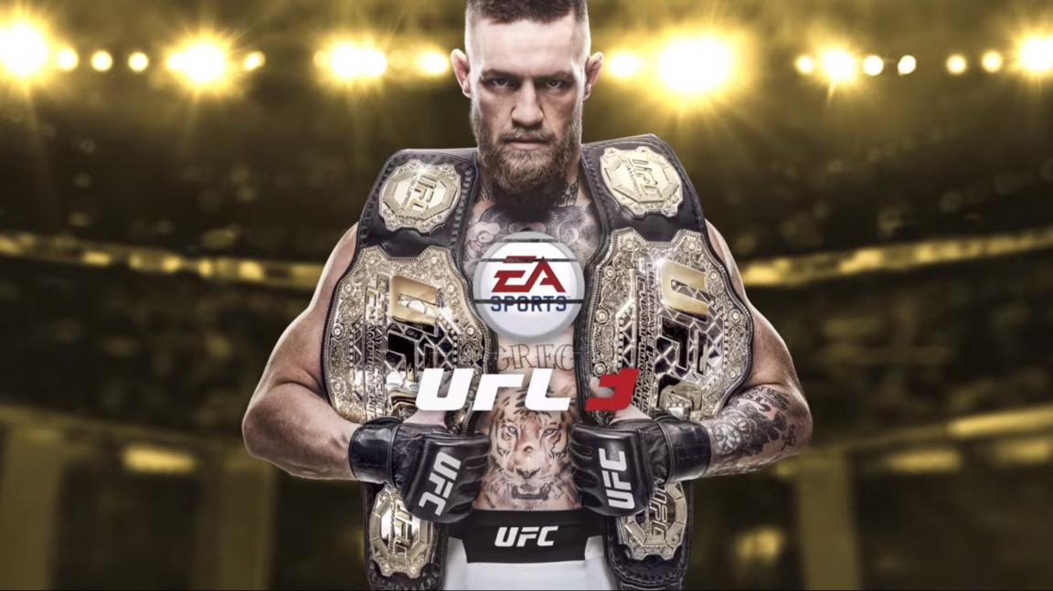 Conor McGregor je tváří UFC 3, která vyjde v únoru příštího roku