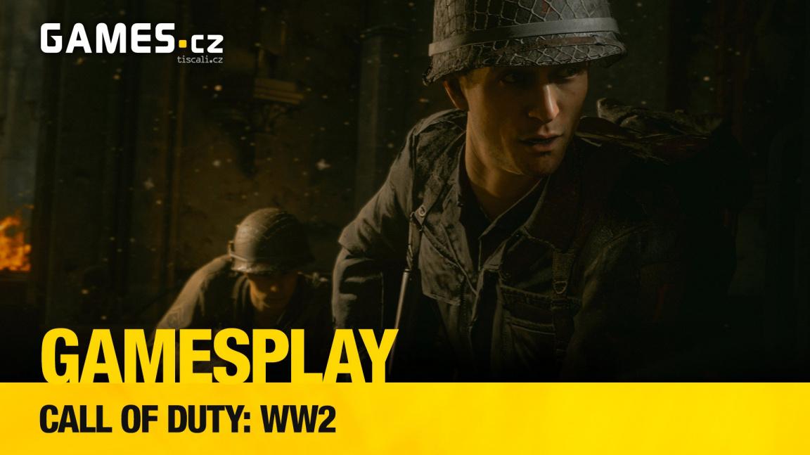 GamesPlay – hrajeme střílečku Call of Duty: WWII